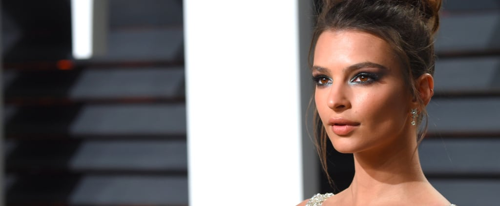 Emily Ratajkowski's Mint Eye Is the Sexiest Version of Mermaid Makeup We've Ever Seen