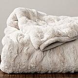 A Plush Throw Blanket