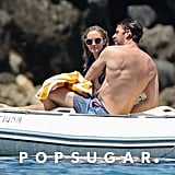 John Krasinski and Emily Blunt at the Beach in Italy 2017