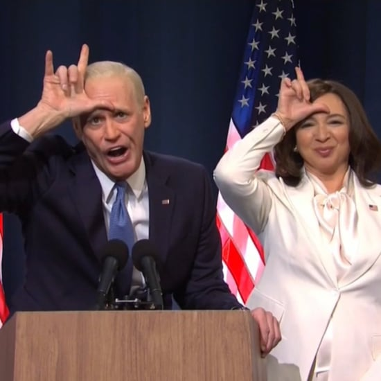 SNL's Jim Carrey and Maya Rudolph Election Win Cold Open