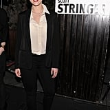 Scarlett Johansson endorsed 2013 NYC mayoral candidate Scott Stringer as she hosted a party in his honor at Manhattan's Maritime Hotel.