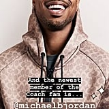 Michael B. Jordan New Face of Coach Menswear