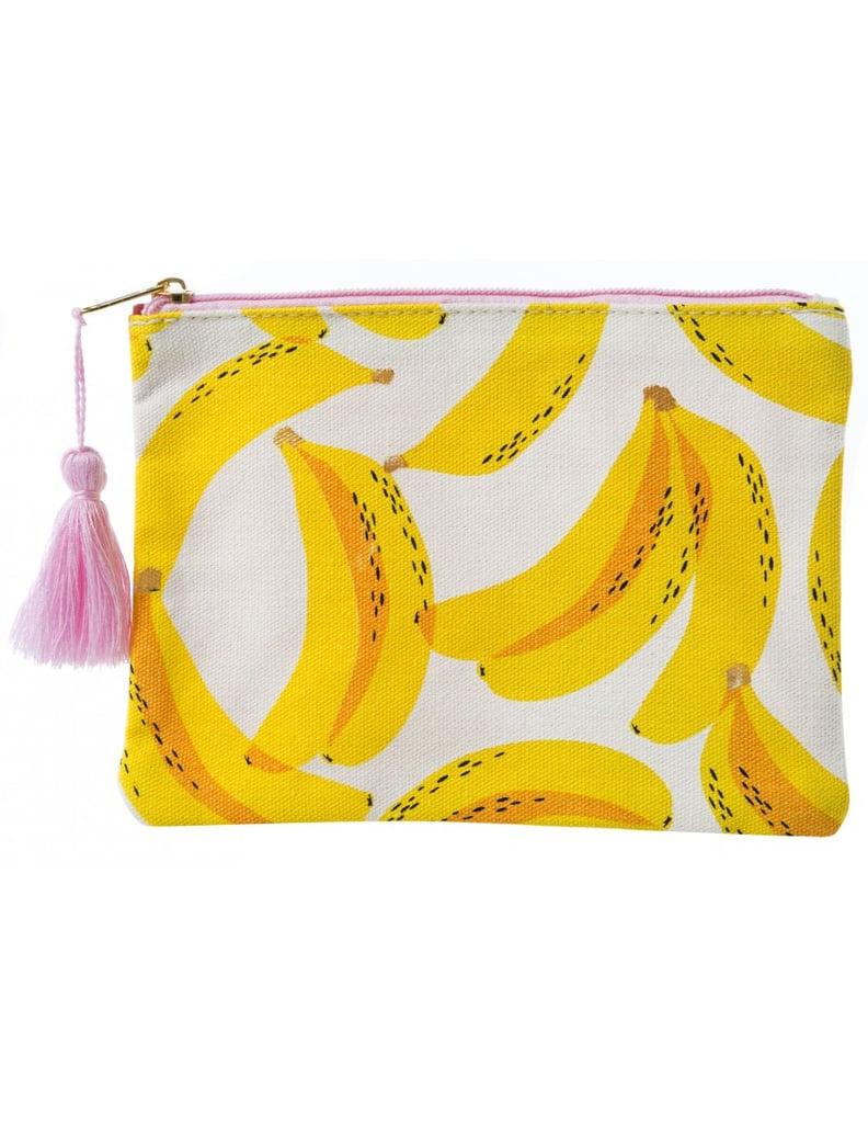 Banana Cosmetic Makeup Bag
