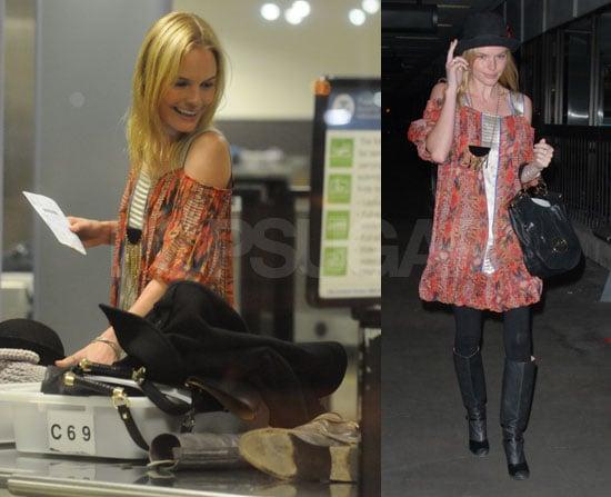 Kate Bosworth's Got Her Hands Full