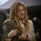 Gisele Bundchen at Givenchy photoshoot.