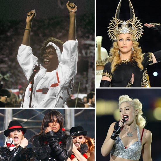 Throwback Thursday: Super Bowl Performers' Iconic Beauty Looks