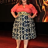 The star rocked a feminine and flirty midi skirt at the Primetime Emmy nominations in 2011.
