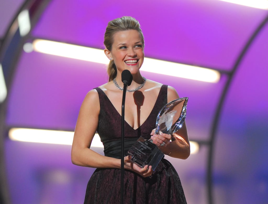 Reese Witherspoon nabbed an award for favourite leading lady in 2006.