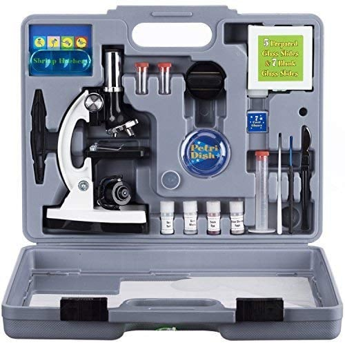 AmScope Kids Beginner Microscope STEM Kit