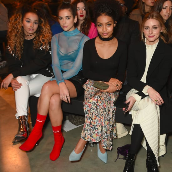 London Fashion Week 2017: What Celebs Wore to Topshop Unique