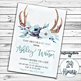 Woodland Baby Shower Invitation