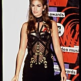 Cindy Crawford at the 1992 VMAs