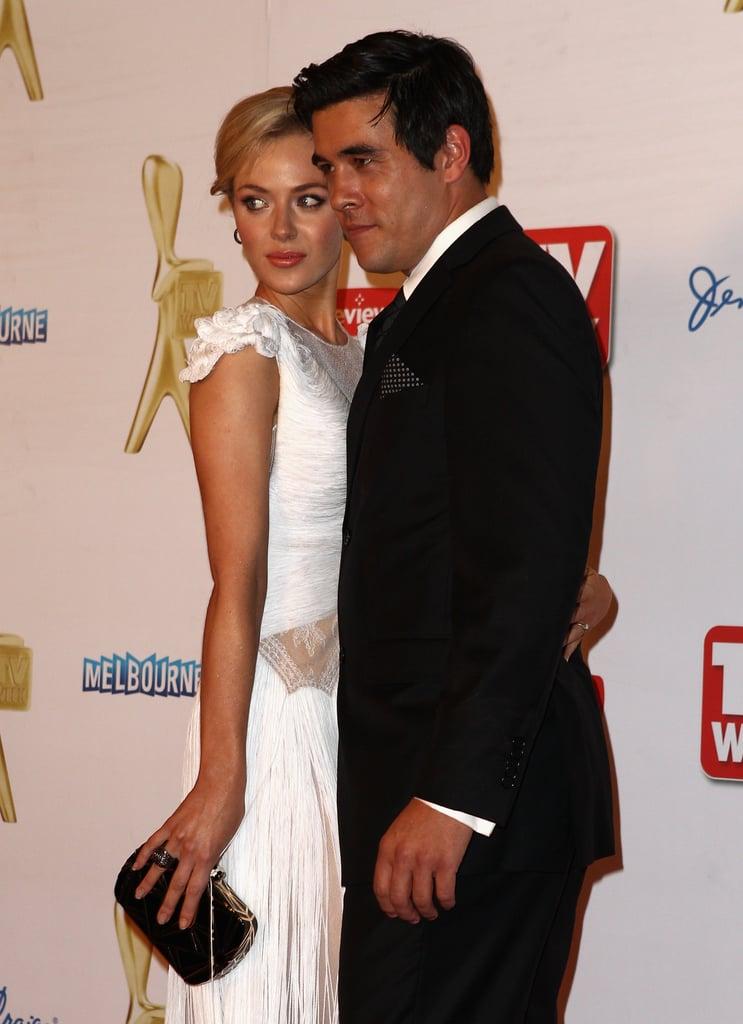 Jessica Marais and James Stewart