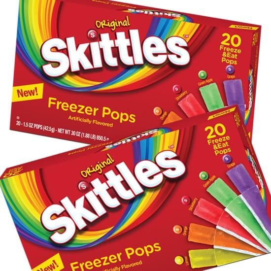 Skittles Freezer Pops at Walmart