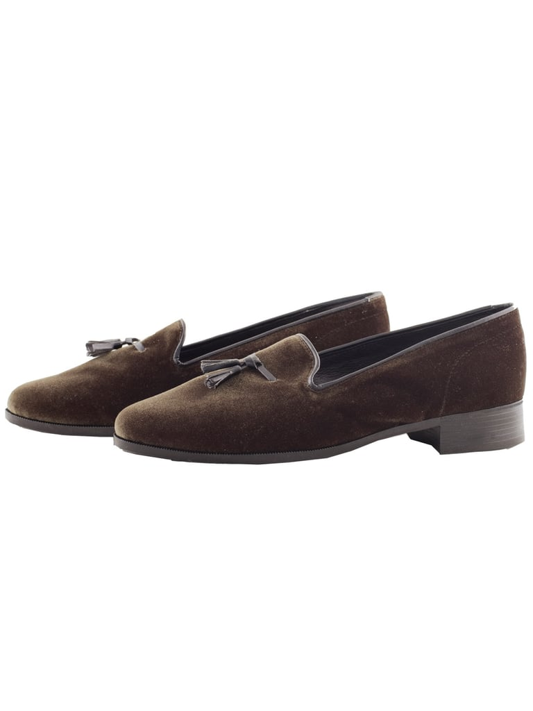 American Apparel Velvet Tassel Loafers ($75)