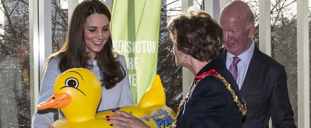 Royal Report: The Duchess of Cambridge Works Hard, Then Plays Hard