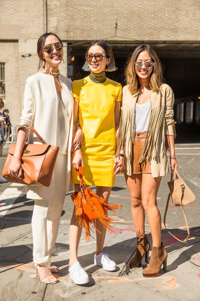 New York Fashion Week Street Style Spring 2016 Popsugar Fashion