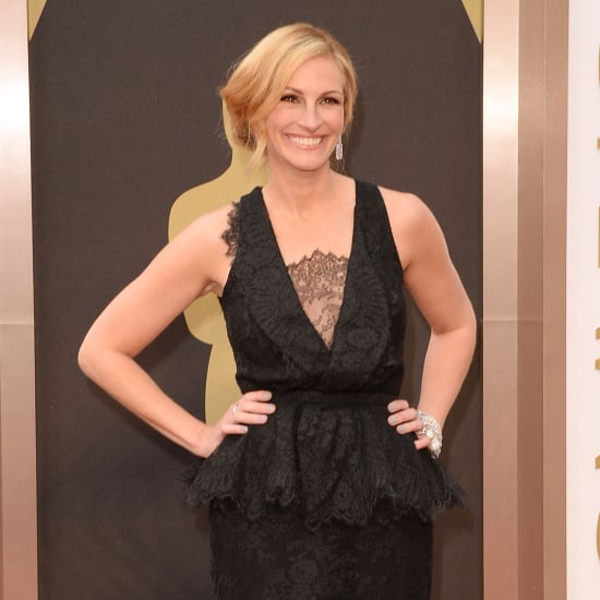 Julia Roberts on the 2014 Oscars Red Carpet