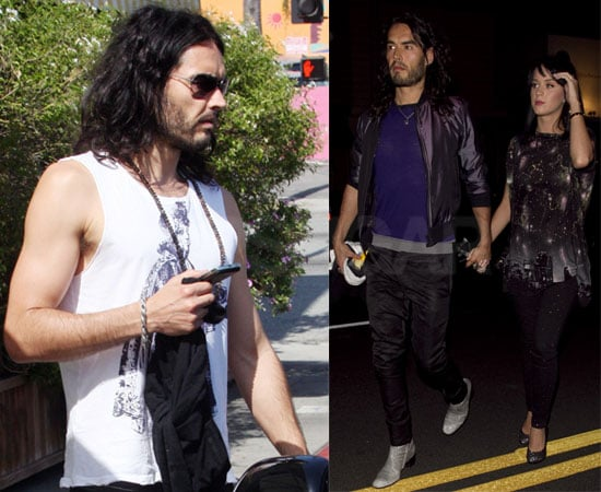 Pictures of Russell Brand and Katy Perry Out in Hollywood