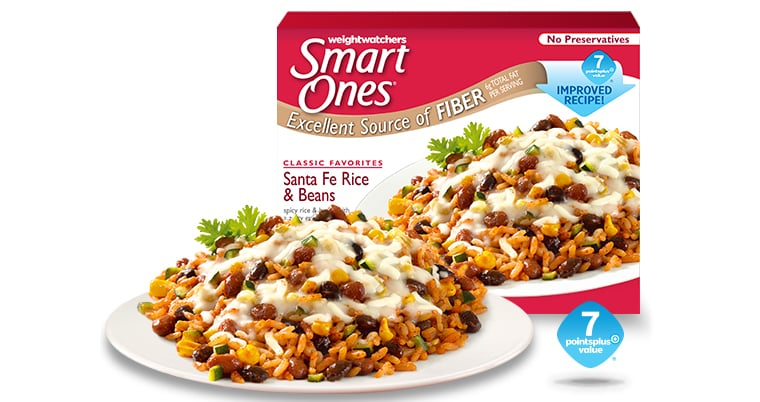 Weight Watchers Smart Ones Santa Fe Rice and Beans