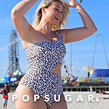 Iskra Lawrence Celebrates Her 29th Birthday on the Beach