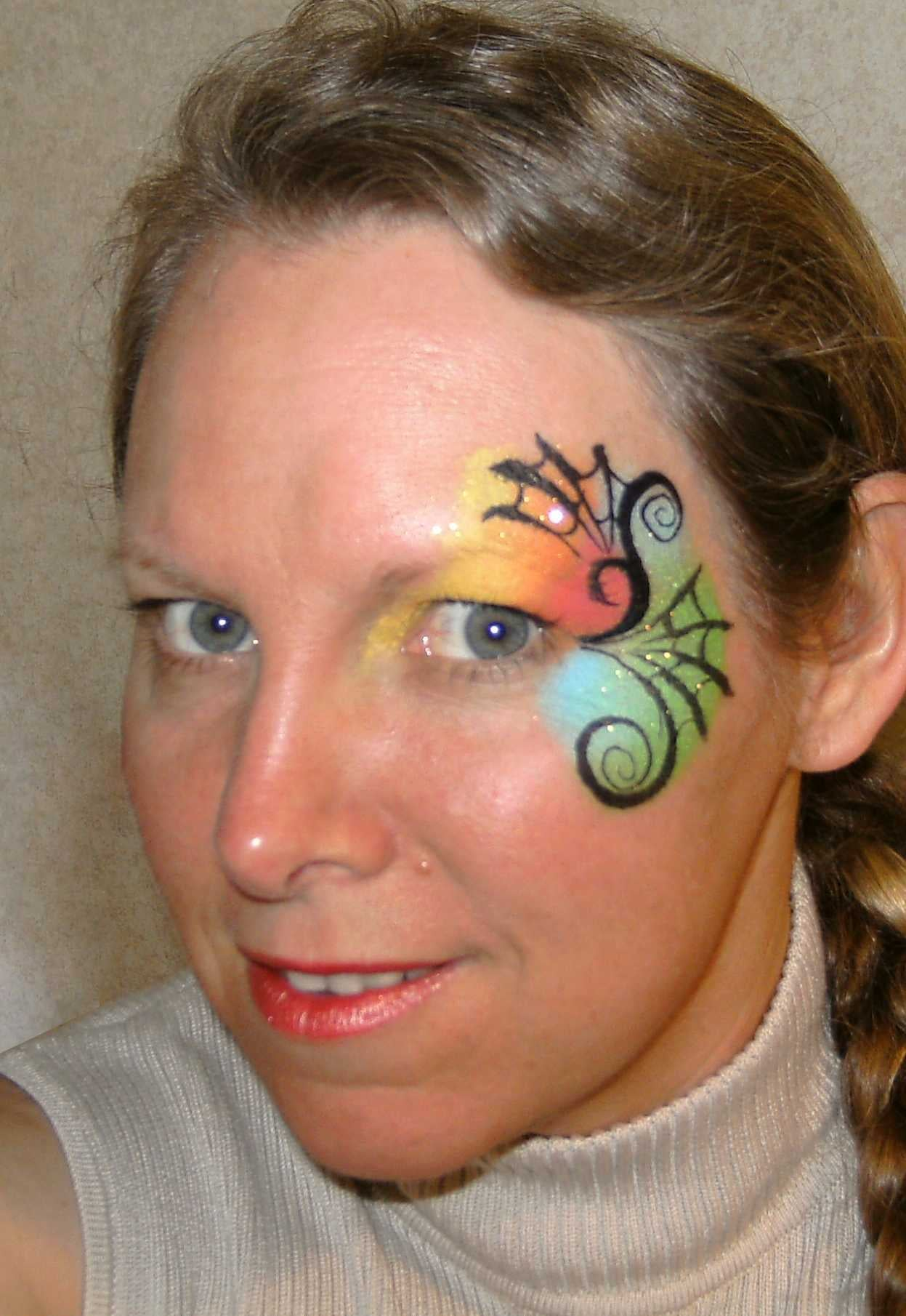 Pop Up Paint Booth >> Face Painting Ideas for Halloween | POPSUGAR Beauty