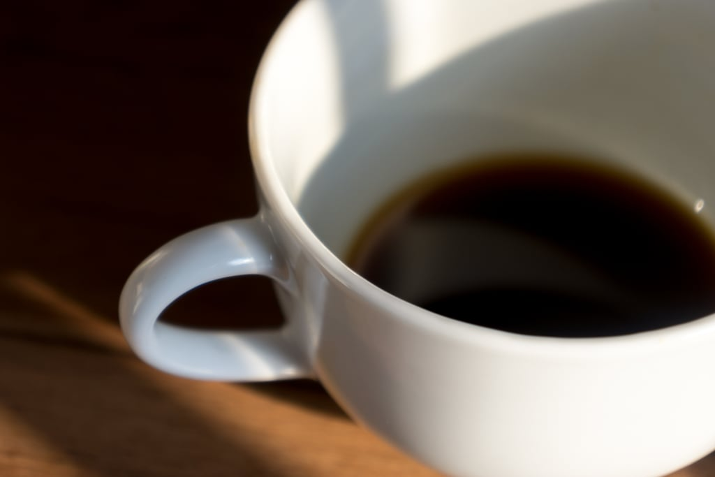 What to Consume: Black Coffee