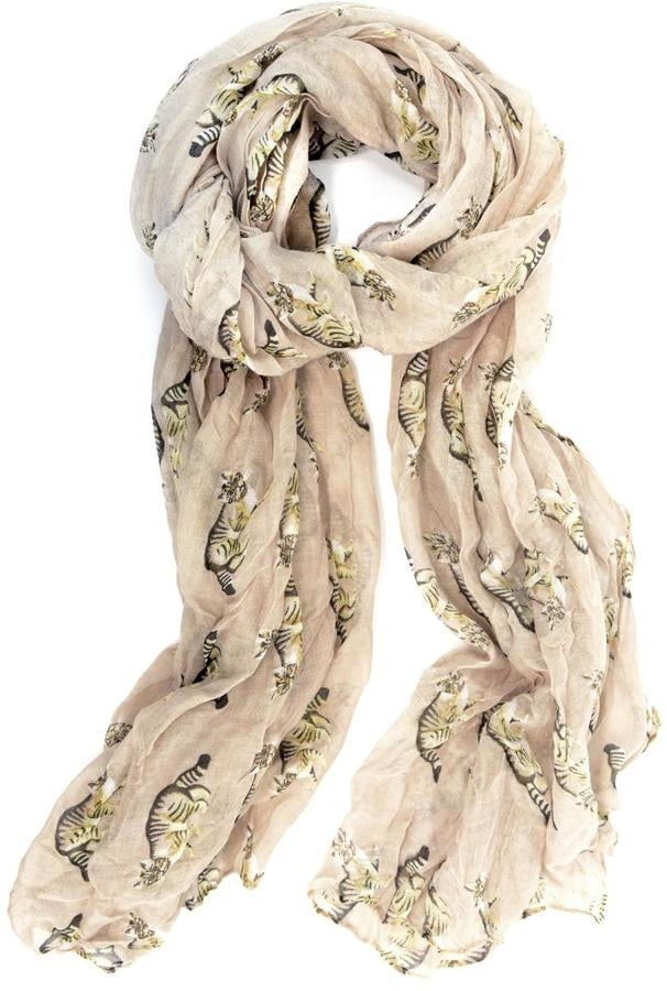 Joy Accessories Cat Print Scarf ($22)