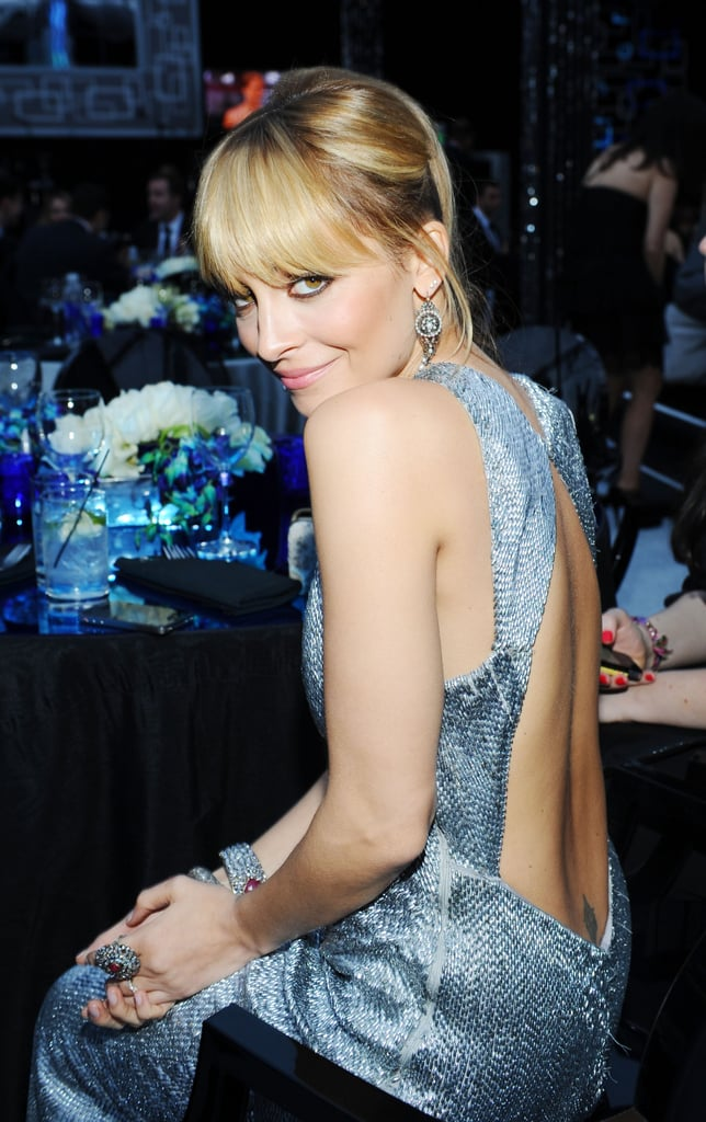 Nicole Richie hung out at the NBC Golden Globes afterparty.
