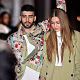 Zayn Malik and Gigi Hadid Out For Dinner in NYC