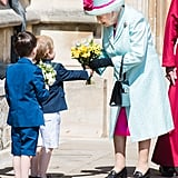 The Royal Family at Easter Service April 2019