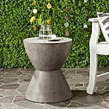 Bed Bath & Beyond Safavieh Athena Concrete Accent Drum Table