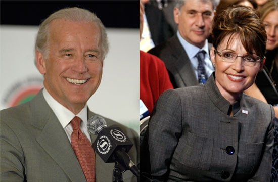 Photo of Joe Biden and Sarah Palin, the Vice Presidential Candidates Who Will Debate Tonight