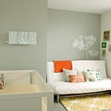 Modern Gray and Yellow Nursery