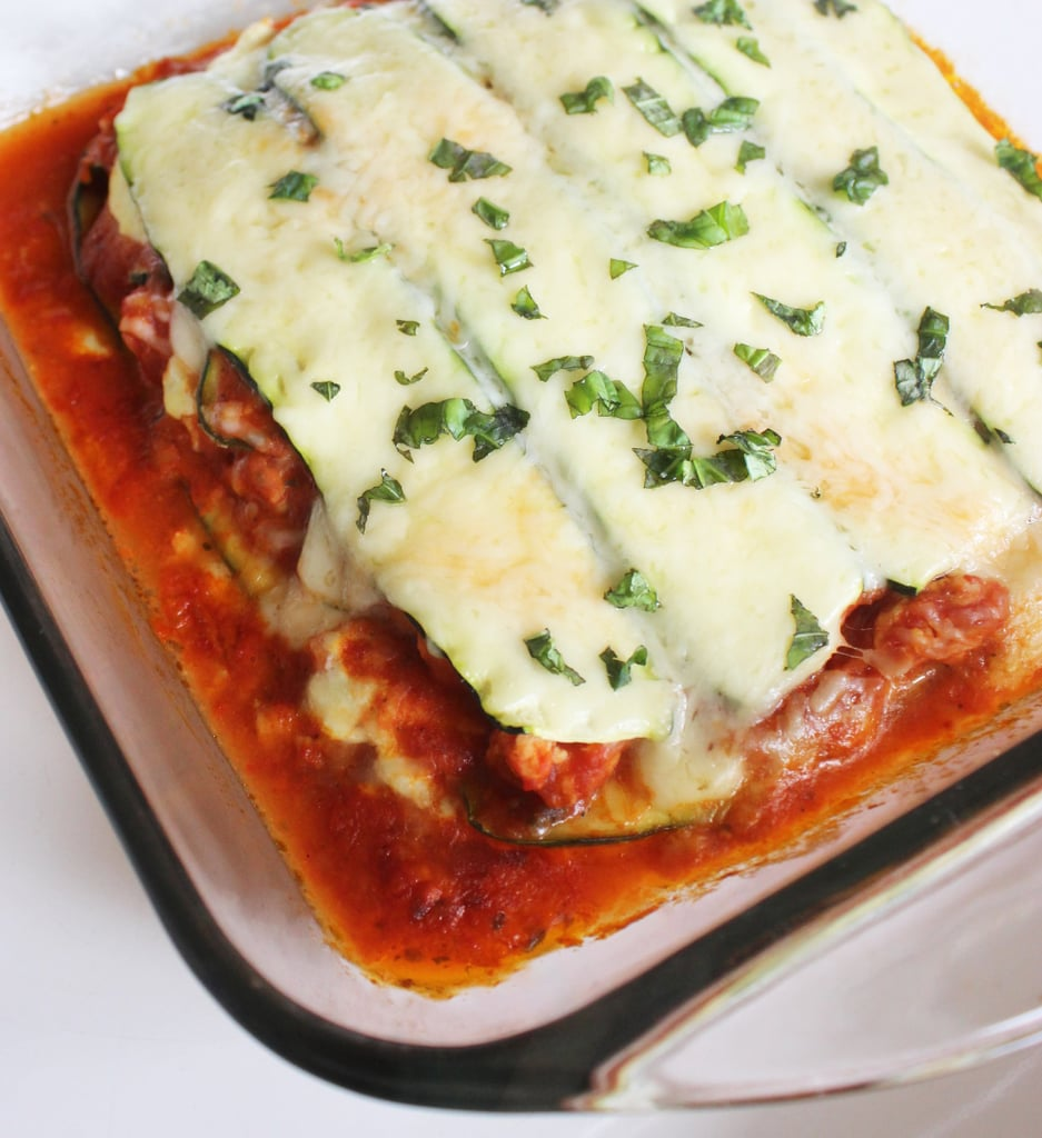 Zucchini lasagne — 344 calories
