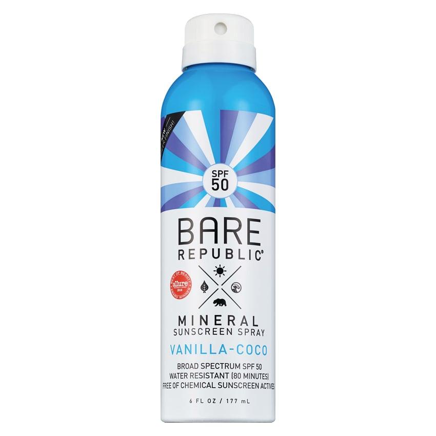 Bare Republic Mineral Body Sunscreen Spray SPF 50