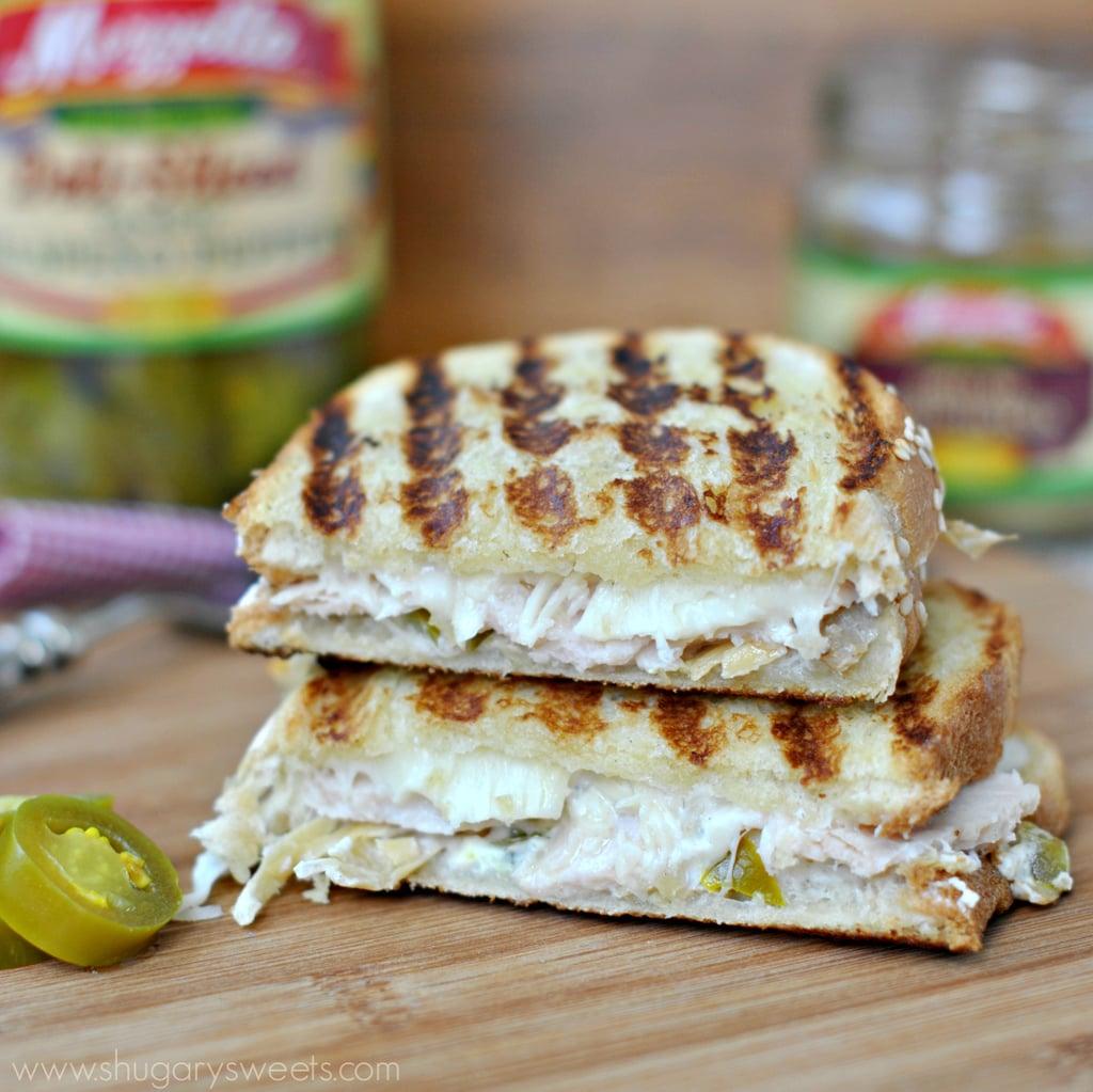 Chicken Artichoke Jalapeño Panini