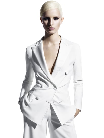 Photos of Spring 2011 Max Mara Ad Campaign Featuring Karolina Kurkova