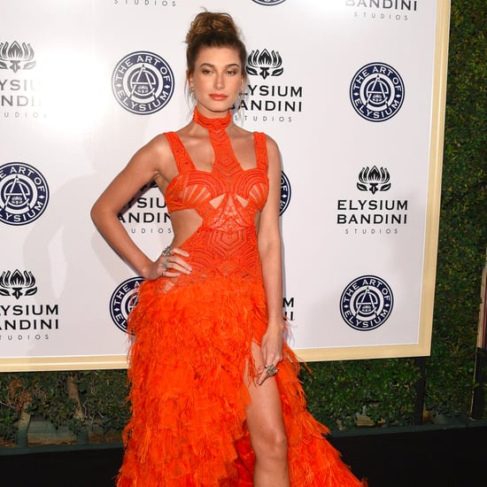Hailey Baldwin's Jonathan Simkhai Dress Art of Elysium Gala