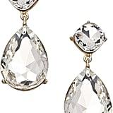 Blu Bijoux Crystal Teardrop Statement Earrings