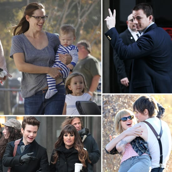 Celebrities on Set | Week of Nov. 19, 2012