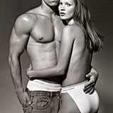 Mark Wahlberg and Kate Moss 1993 Campaign