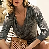 Laid back, but still super chic in grays and beige in this Escada Spring '12 ad photo. Source: Fashion Gone Rogue