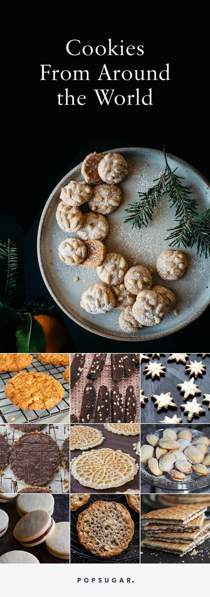 International Cookie Recipes Popsugar Food