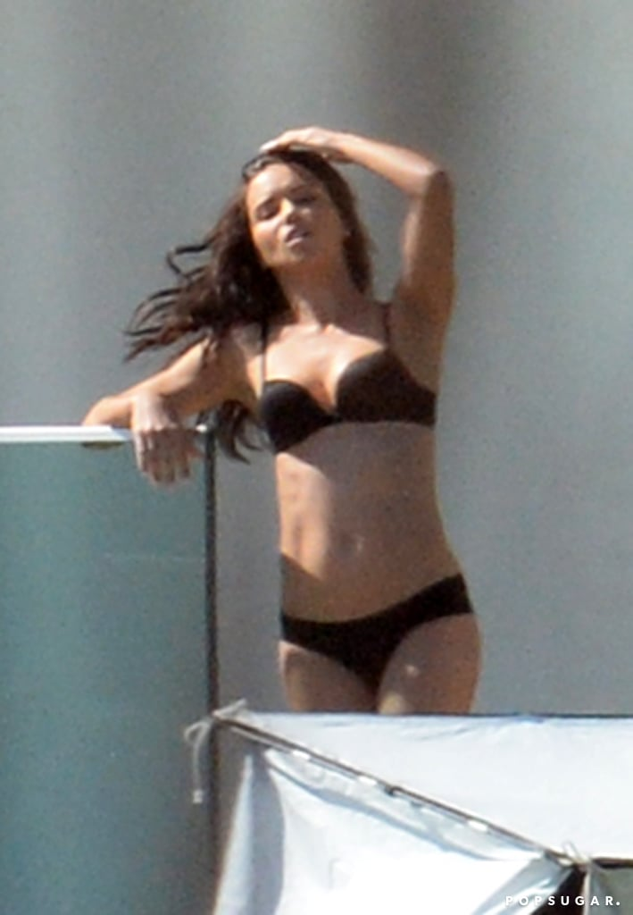 Adriana Lima's Lingerie Photo Shoot in Miami | Pictures