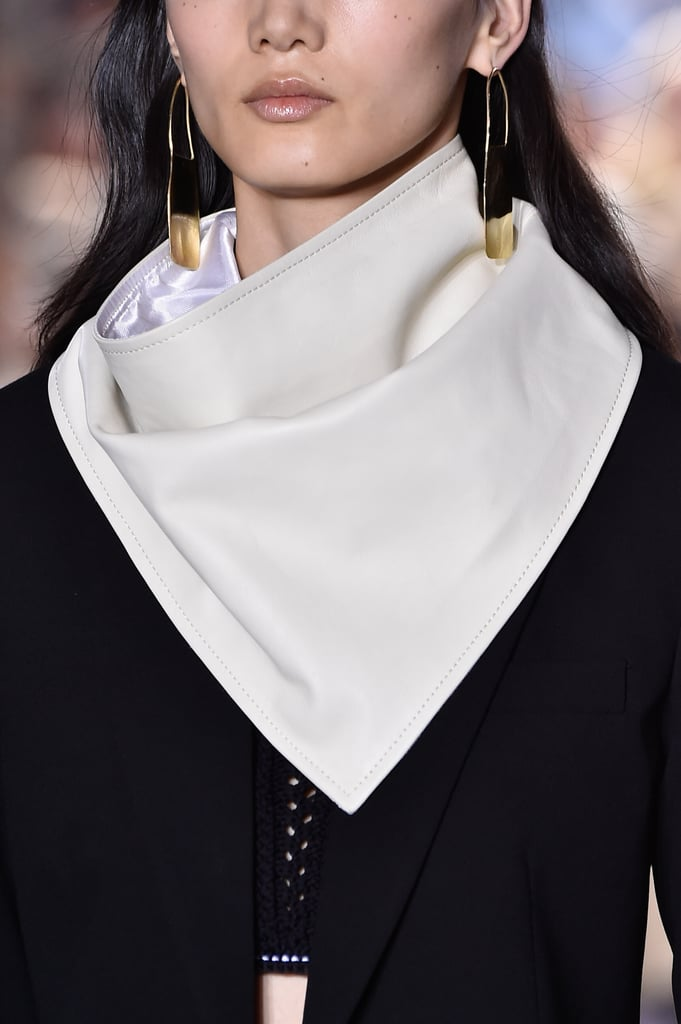 A Scarf on the 3.1 Phillip Lim Runway at New York Fashion Week
