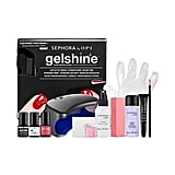 Sephora by OPI's Gelshine Kit ($159) is complete with all you need to get a long-lasting manicure sans the mistakes. And the megawatt shine will leave you (and your pals) impressed.