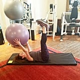 Stability Ball Handoffs