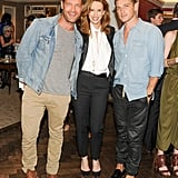 Nate Berkus and Jeremiah Brent helped Monica Rich Kosann fete her Bergdorf Goodman boutique opening.