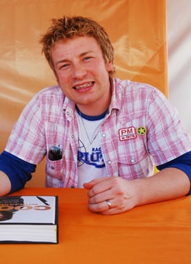 Sugar Bits — Jamie Oliver Is Britain's Most Iconic Chef